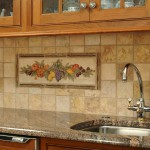 Фартук из плитки в кухне