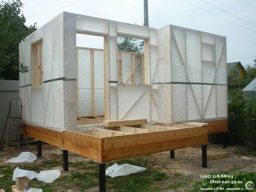 Как строится баня своими руками: фото, видео и проекты