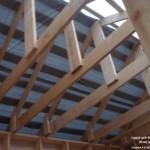 Крыша каркасной бани 1