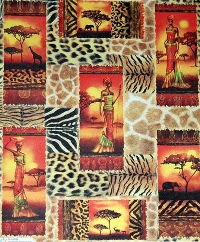 Африканский декупаж: картинки в стиле, темы для бутылок и мебель сафари 23