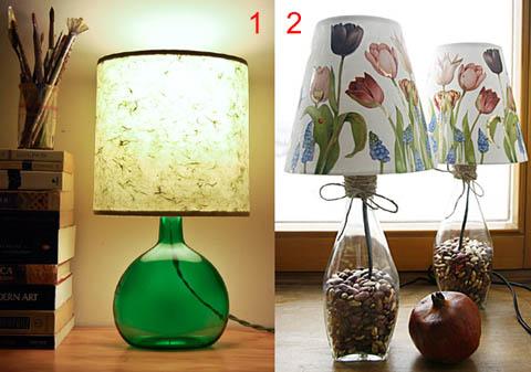 Как сделать настольный светильник в домашних условиях 268