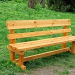 скамейка без подлокотника