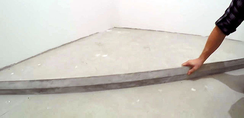 Проверка ровности бетонных полов